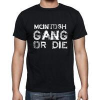 Mcintosh Family Gang Tshirt, Tshirt Homme Noir, Cadeau T-shirt