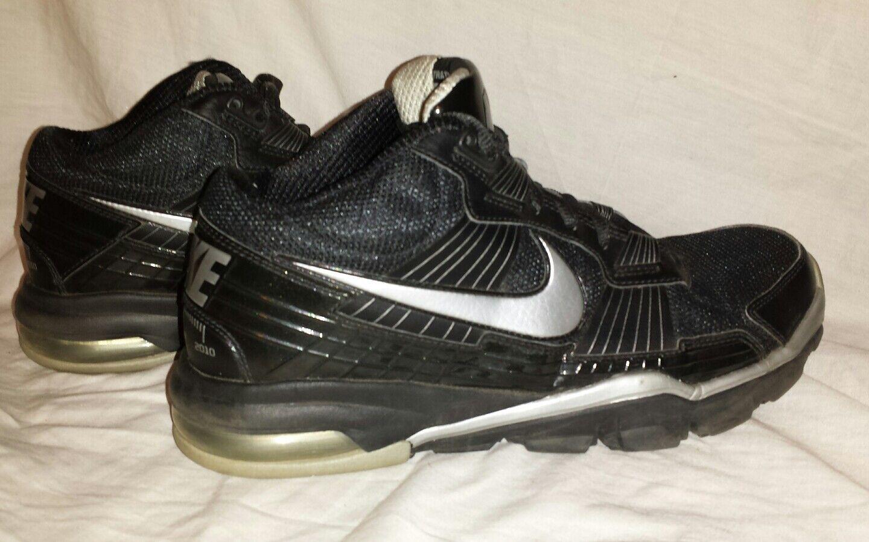 Nike bo / jackson allenatore sc 2010 scarpe neri / bo argento misura 8,5 991c27