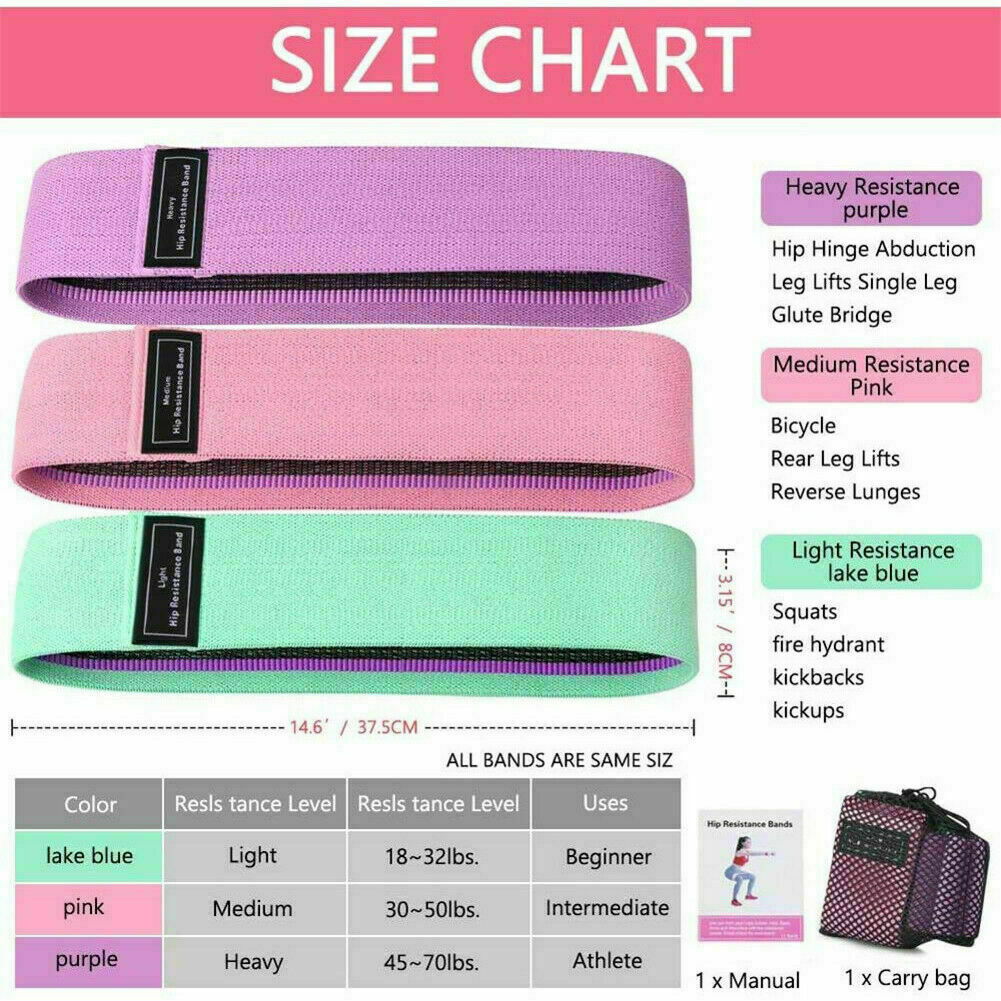 China factory toning galery exercise resistance galery band resistance band