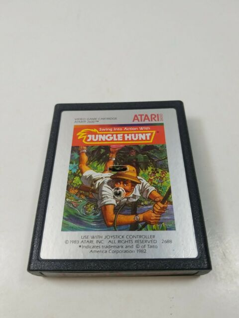 Jungle Hunt - Atari 2600 - Game Cart only - VINTAGE
