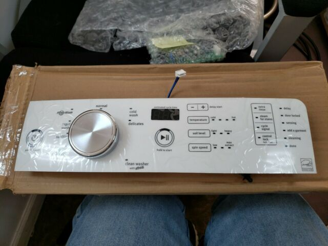 Maytag User Interface Control Panel W10825104 WPW10825104 WHITE