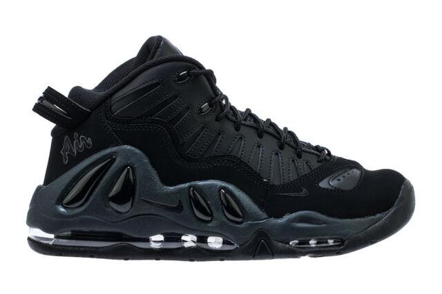 Nike Air Max Uptempo 97 # 399207 005 Pippen Triple Black Men SZ 7.5 13