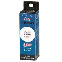 Nittaku 2-star Premium 40+ Table Tennis Balls Plastic Ball