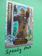 Topps Force Attax Awakens Limited Edition Chewbacca limitiert Erwachen der Macht