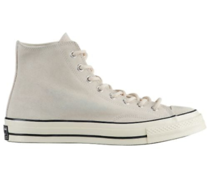 59753f53470 Converse Chuck Taylor All Star 70 Hi Natural Ivory Suede Mens Shoes ...