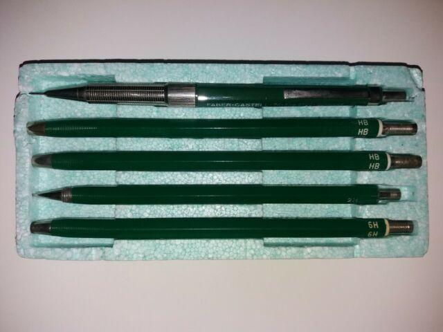 vintage faber castell mechanical pencil drafting set tk
