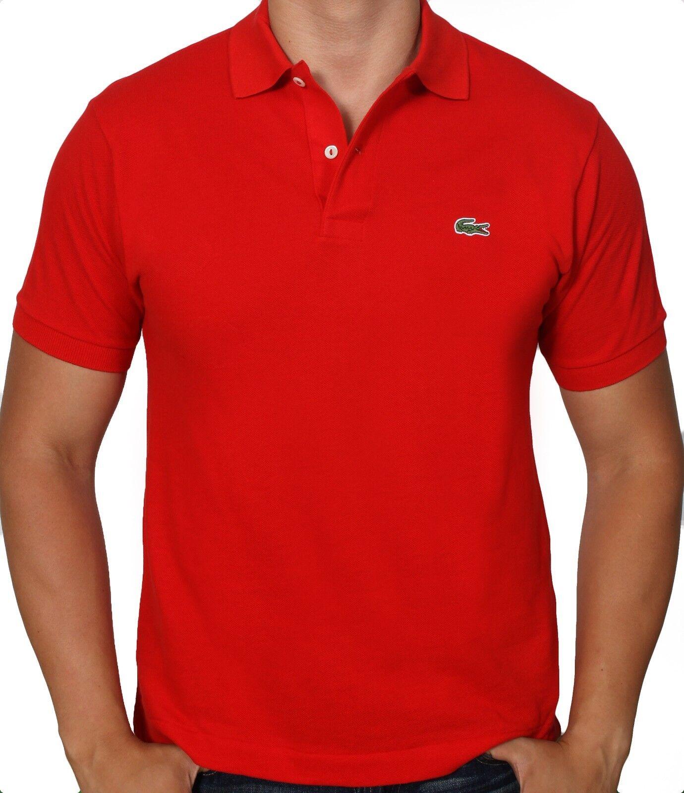 Lacoste Mens Short Sleeve Classic Cotton Pique Polo Shirt L1212 51