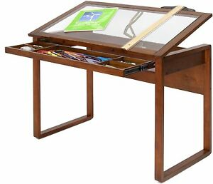 Incroyable Image Is Loading Drawing Drafting Table Art Craft Desk Storage Wood