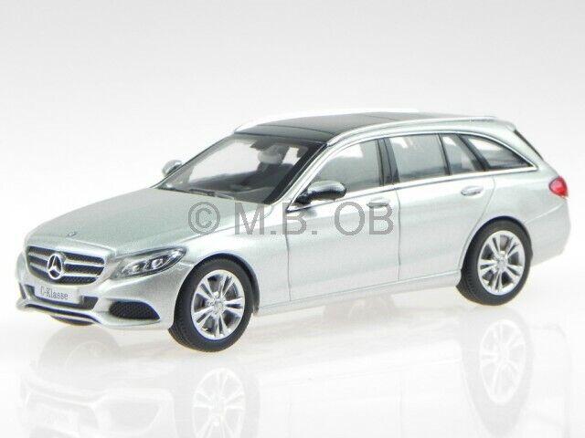 Mercedes S205 C-Klasse T-Modell Avantgarde Avantgarde Avantgarde silber Modellauto Norev1 43 fbd55a