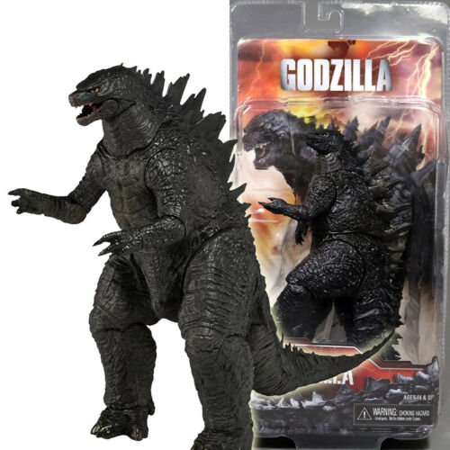 NECA Godzilla 2014 Movie Black 6 Action Figure 12 Head To Tail Collect Doll