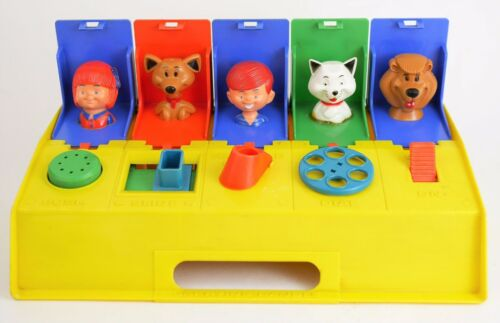 Vintage Kohner Busy Surprise Box Toy