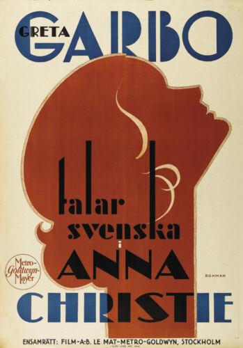 Anna-Christie Greta Garbo vintage movie poster movie poster 24x34 inches approx.