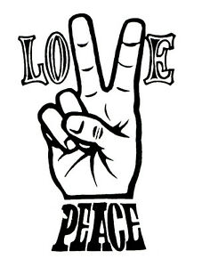 love and peace 1970 s vintage hot rat rod drag racing decal sticker Dodge Truck Decals image is loading love and peace 1970 039 s vintage hot