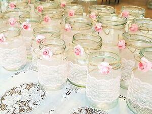 Details Zu Windlichter Hochzeit Deko Hochzeit 30stk Vintage Gläser Tisch Deko