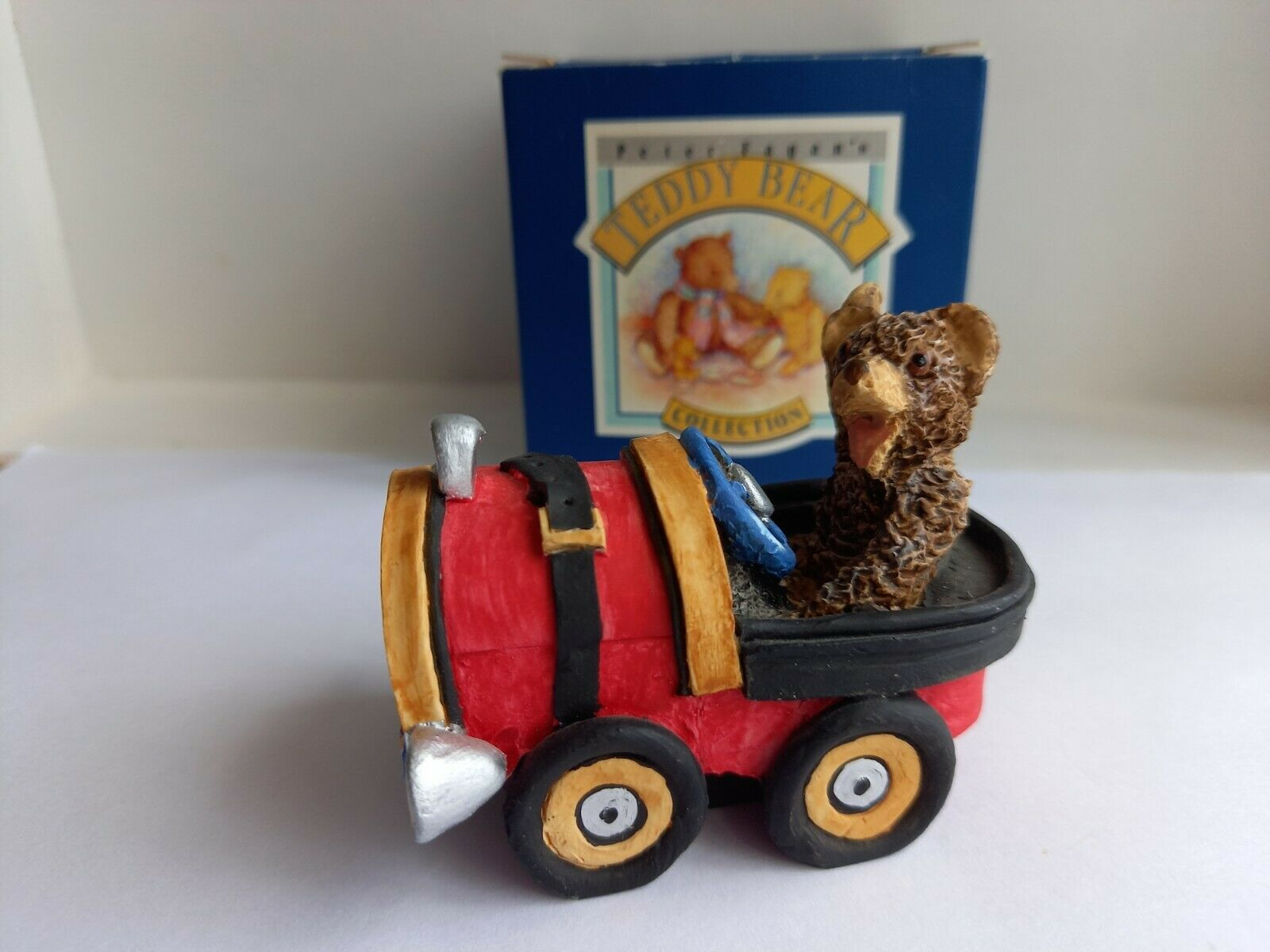 Colourbox Peter Fagan bears Grand Prix Ted TC222 boxed Excellent condition