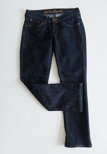 MAVI-JAMIE-Jeans-Womens-Size-W26-x-L32-Low-Rise-Skinny-Bootcut-Dark-Blue
