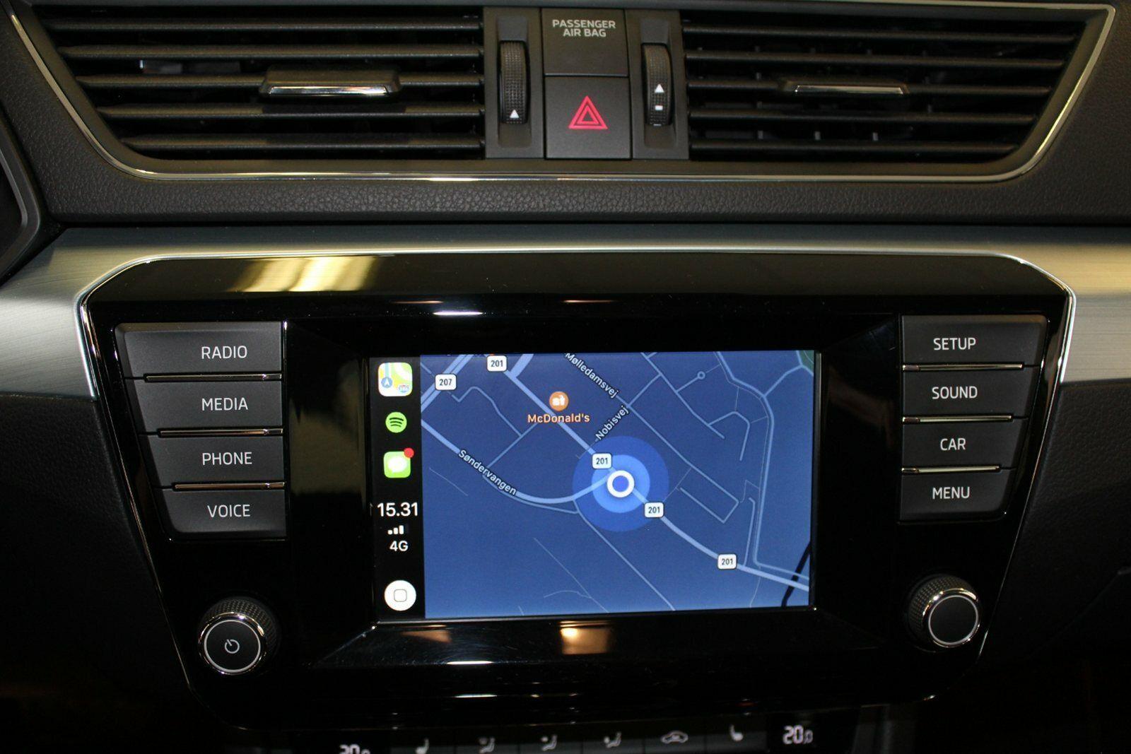 Skoda Superb 1,4 TSi 150 Ambition Combi DSG - billede 9