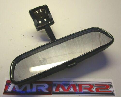 Toyota MR2 MK2 Turbo Black Interior Rear View Roof Mirror 1989-1999