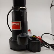 Dayton 3bb70 Submersible Sump Pump 13 Hp 1 12 In 115v Vertical