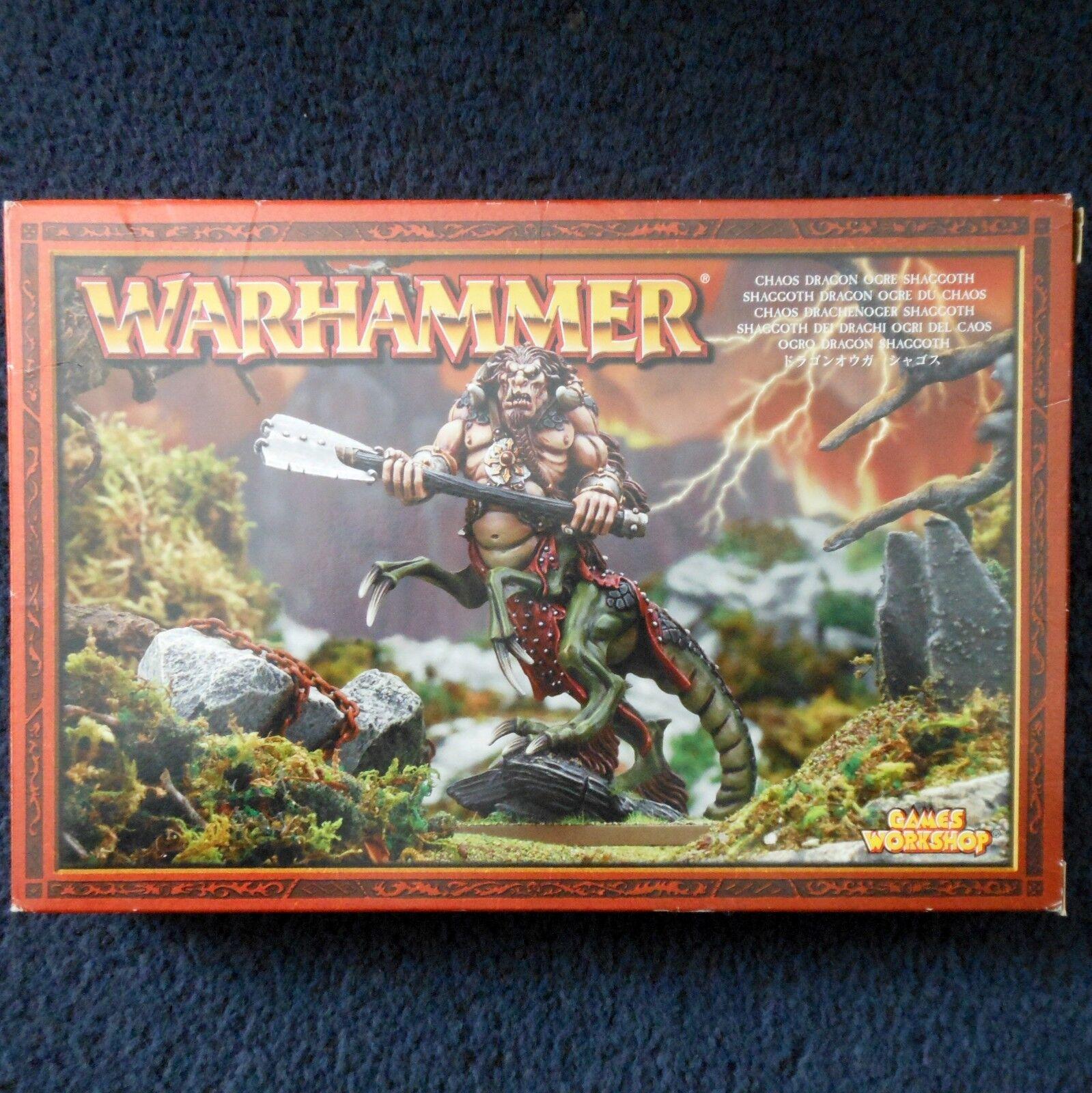 2018 caos ogro dragón shaggoth Juegos taller Warhammer army ogor caballería MIB