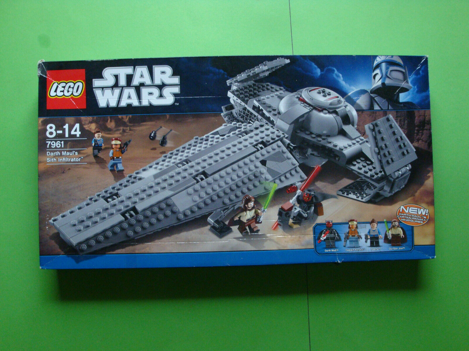 LEGO STAR WARS DARTH MAUL'S SITH INFILTRATOR  7961  con imballaggio