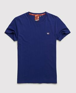 M1000001A Superdry Blue Collective T-Shirt T6G RRP £20