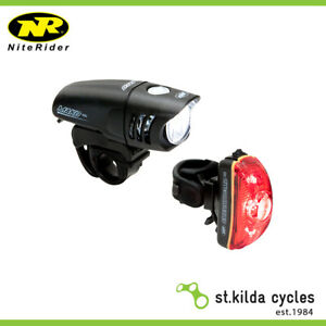 NITERIDER MAKO 250 AND CHERRYBOMB 35 BICYCLE HEADLIGHT AND TAILIGHT SET