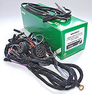 BSA BANTAM LUCAS MAIN WIRING HARNESS LOOM WITH SOCKETS D10 D14 REPLACES WIPAC S4