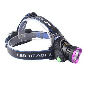 20000LM XML XM-L T6 LED 18650 SUPER POWER 18650 Headlamp Head-Lamp-Light-Torch