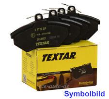 TEXTAR Bremsbeläge VA für MAZDA 323 F S,626 IV V,MX-6,PREMACY,XEDOS 6