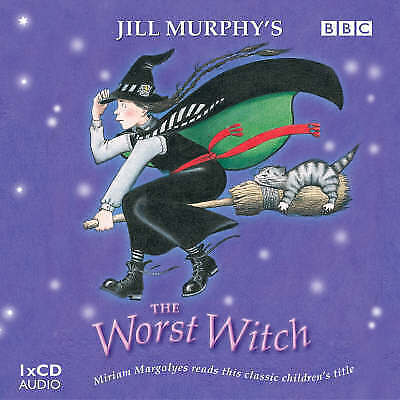 1 of 1 - THE WORST WITCH - JILL MURPHY - AUDIO BOOK -UNSEALED CD READ BY MIRIAM MARGOLYES