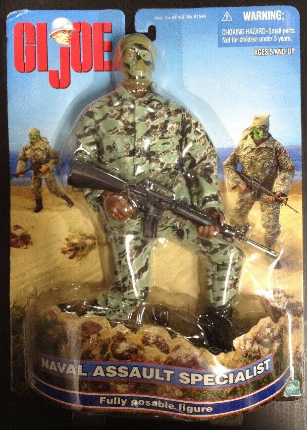 G.I. Joe Naval Assault Specialist Fully Poseable Action Figurine