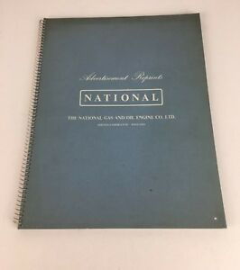 Vintage-The-National-Gas-amp-Oil-Engine-Co-Advertising-Reprints-Booklet