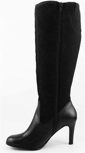 Ralph Lauren Bryce Negro suede calf botas De De botas Cuero De Rodilla Alta Nuevo En Caja Nuevo  169 Talle 9.5 b6535f