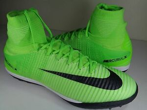 927e18faf68f Nike MercurialX Proximo II DF TF Turf Electric Green Black SZ 12 ...