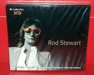 2-CD-ROD-STEWART-COLLECTION-SEALED-SIGILLATO