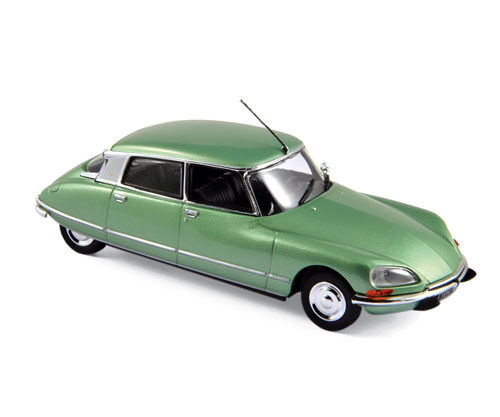 NOREV 157078 Citroen DS 23 Pallas 1973 - Green metallic 1:43 suberb detail