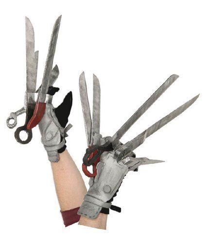 Edward Scissorhands Deluxe Gloves Adult Halloween Costume
