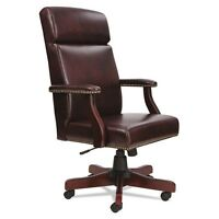 Alera Traditional Series High-Back Chair - TD4136