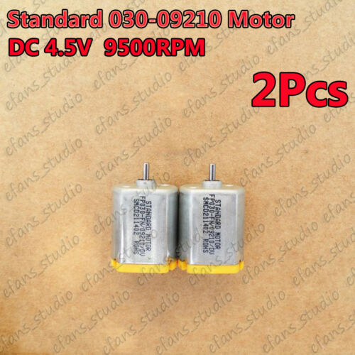 2pcs Standard 030-09210 Motor DC 4.5V 9500RPM Micro Mini DC Motor For DIY Parts