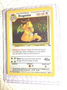 DRAGONITE-4-62-Fossil-Holo-Pokemon-Card-EXC-NEAR-MINT