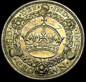 S769-1927-Silver-Proof-WREATH-CROWN-uncircluated-amp-toned-15-030-mintage