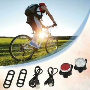 USB-Rechargeable-LED-Bright-Bicycle-Bike-Headlight-Lamp-Waterproof-Taillight-Set