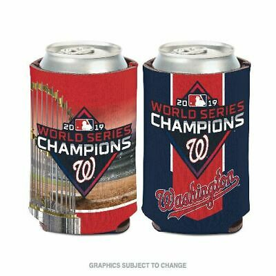 Washington Nationals Beer Bottle Jersey Koozie Cooler Coozie