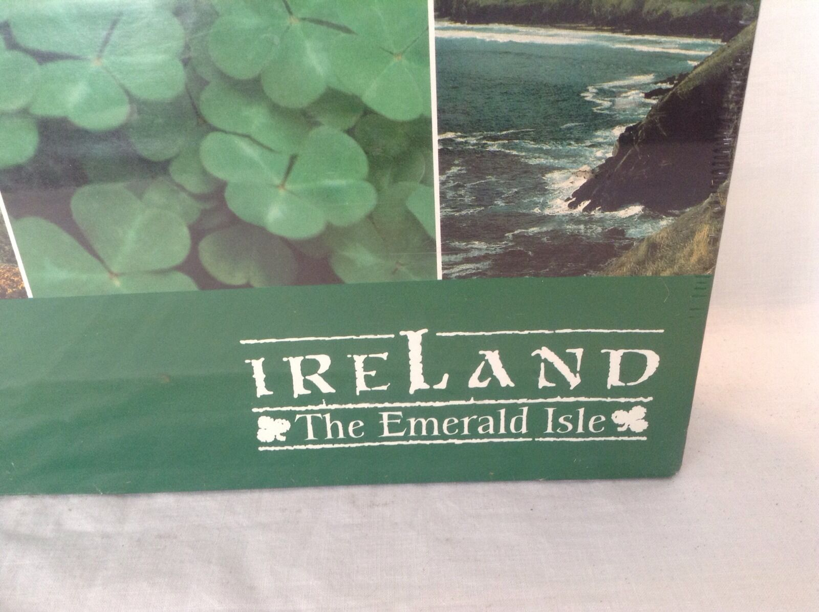 Ireland The Emerald Isle Springbok 1500 Piece Jigsaw Puzzle Sealed In Box Nuovo
