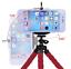 Mini-trepied-flexible-pour-smartphone-avec-support-NOIR miniature 2