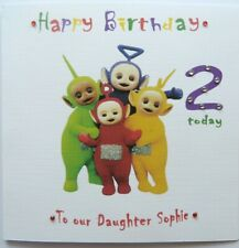 Personalised Hand made 6 inch square  Minnie Mouse  Birthday card any age