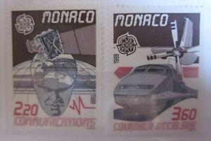 Timbres-Monaco-YT-1626-1627-neufs