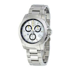 longines conquest stainless steel mens watch l3 700 4 78 6 image is loading longines conquest stainless steel mens watch l3 700