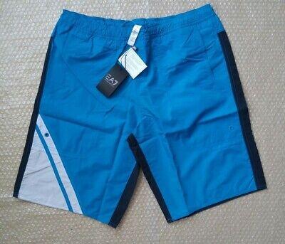 Attivo Emporio Armani Ea7 Men's Royal Blue A Lungo Boxer Taglia 50 (l)- Pregevole Fattura